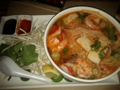 Seafood Pho @ Madame Tams in Palo Alto
