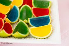 Jello filled. Going to use limes and red jello for a pretty Christmas jello slice. :)
