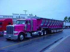 ☺ • Peterbilt • ☺ TxDOT would give up on check axle weights on this one!