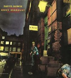 A great poster for any David Bowie fan - the classic album cover from Ziggy Stardust! Check out the rest of our amazing selection of David Bowie posters! Need Poster Mounts. Ziggy Stardust Album Cover, Bowie Ziggy Stardust, Lady Stardust, David Bowie Ziggy, Iconic Album Covers, Classic Album Covers, Rock Album Covers, Aladdin Sane, Glam Rock