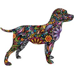 On Labrador Retriever Dog Decal Wall Sticker ($12) ❤ liked on Polyvore featuring home, home decor, wall art, grey, home & living, home décor, wall decals & murals, wall décor, grey wall art and wall stickers