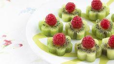 kiwi + raspberries...