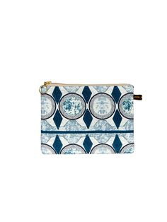 Aye I Blue Make-Up Bag #Makeupbag #africandesign, #africantextiles, #Evasonaike, #africanprints, #africanfashion, #popularpic, #luxury, #africanbag #picoftheday #picture #look #mytrendesire #cool #africandecor #decorating #design #Ekoeclipsecollection #AYE