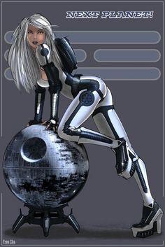 Star Wars Pin-Ups