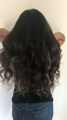 Add Length and density with tape in extensions! I used 4 packs on my client! Brown Hair Extensions, Tape In Extensions, Brunette Hair, Long Hair Styles, Beauty, Long Hairstyle, Long Haircuts, Chestnut Hair Colors, Brown Hair