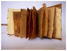 Libro de Té #bookarts #bookartist #librosdeartista #encuadernación #bookbinding #libros