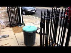 Bi fold gate 3 - YouTube