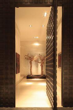 One cool front door! found on FrontDoorFreak.com