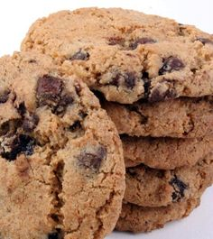 My Vegan Cookbook -Low Fat Chocolate Chip Cookies