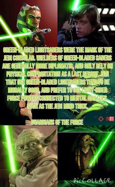 except for ahsoka who acted more like anakin skywalker but with more maturity