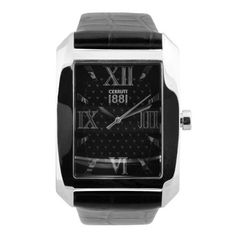 Montre Cerruti 1881 / Cuir Noir CRB015A282B Cerruti 1881, Watches, Model, Accessories, Fashion, Clock Art, Black Leather, Wristwatches, Moda