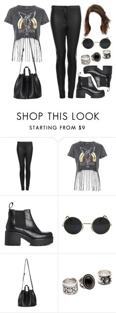 """""""Style #11517"""" by vany-alvarado ❤ liked on Polyvore featuring Topshop and Vagabond"""
