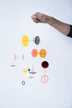 Mobile Art, Hanging Mobile, Mobile Sculpture, Mobile Project, Cozy Room, Light Art, Plexus Products, Diy Art, Art Lessons