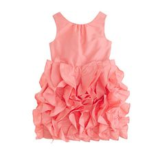 I like this dress for Nola! Any thoughts Ladies? Ultimately, it will be up to  the boss.  J.Crew - Girls' silk taffeta Lyla dress