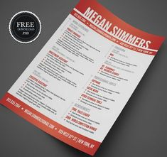 ideas about free creative resume templates on pinterest    download  free creative resume   cv templates   xdesigns