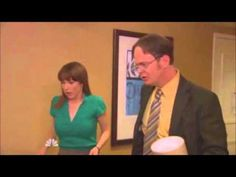 The Office--One of Jim's best pranks on Dwight. They're in a hotel on a work trip and... well... watch and see. =D