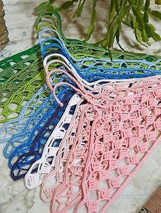 Crocheted Coat Hanger Covers - Free Crochet Patterns