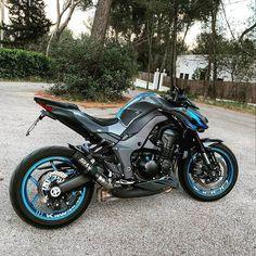 Contact me in DM for price! Ninja Motorcycle, Motorcycle Design, Bike Design, Kawasaki Bikes, Honda Scrambler, Bike Drawing, Ducati Monster, Sportbikes, Hot Bikes