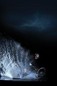 ♂ Night bike ride Fox Rider