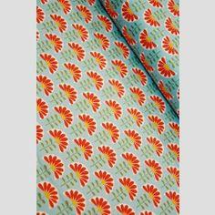 gorg Floral Tie, Folk, Organic, Flowers, Prints, Fabrics, Decor, Tejidos, Decoration