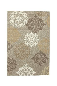 Pricilla Rug - Dark Beige by Mohawk on @HauteLook