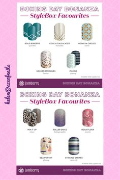 Christmas is nearly upon us…… before we know it, it will be boxing day & that mean sales !!!  Now, for Boxing Day, Jamberry have released the bonaza… they have released …