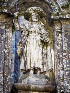 James the Pilgrim by Christopher Cox on San Giacomo, Carmel By The Sea, The Camino, Saint James, Pilgrim, July 25, Statues, Image, Portugal