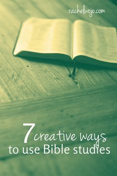 You want to do a Bible study, but just can't seem to work out the details. Use these 7 ideas to make a Bible study that works for you happen right now!