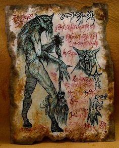 Native American Wendigo   In Ojibwe, (Native American folklore) Wendigo is described as more ...