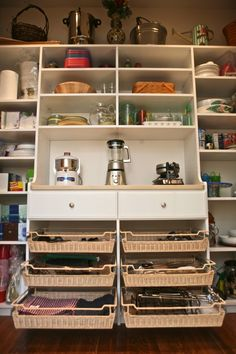 Love this butler's pantry!