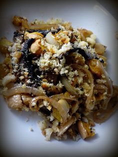 Mushroom and Butternut Squash Gratin
