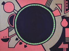 KORZH Taras, teleporters, 2015, Acrylic on canvas, 75 x 100