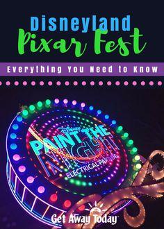 Disneyland Pixar Fest Pin Image || Get Away Today