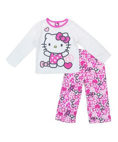 Hello Kitty Pink Pajama Set - Toddler   Girls 24f1198e7