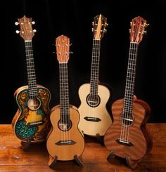 Lichty Handcrafted Ukuleles - no two are alike