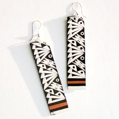 Fly Away Earrings by Michelle Lowden (Acoma)