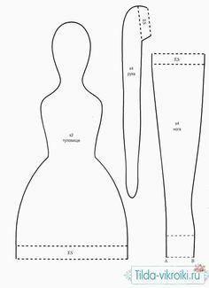 тильда кукла выкройка - Поиск в Google