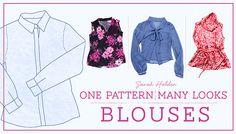 Create unique blouse