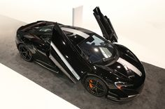 McLaren 675LT With JVC Kenwood's CarOptronics Rolled Out At CES