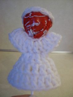 Free Lollipop Angel Crochet Pattern