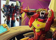 Lol. Tailgate being carried by the neck by Ultra Magnus. Lol!!!