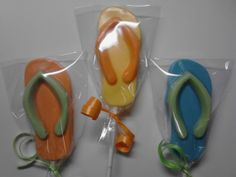 24 Flip Flop, Nautical, summer, beach, wedding, birthday Chocolate Lollipop Party Favor