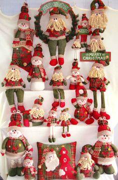 Handmade Cloth Art for Christmas decoration from Quanzhou Ruihua Crafts Company/China Holiday Gifts, Holiday Decor, Christmas Decorations, Christmas Ornaments, Fabric Dolls, Snowman, Santa, Xmas, Pattern