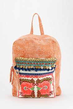 Pink Ecote Embellished Backpack... A must-have!!!