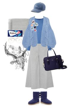 """""""PUBLIC HIJAB"""" by www-som ❤ liked on Polyvore featuring Acne Studios, Theory, Polo Ralph Lauren, I Love Mr. Mittens, UGG, Bing Bang, SO and Kate Spade"""