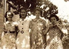 Did You Know: 1930s Flour Sacks Had Colorful Patterns for Women to Sew Dresses From ~ vintage everyday