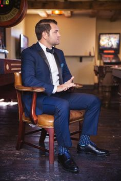 Male dress sock fetish