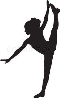 Dancing silhuet barn
