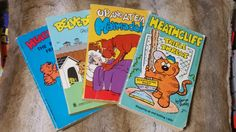 Vintage Cat and Dog Comic-Book Collection by KingdomoftheGeek