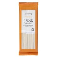 Brown Rice Udon 250g. Clearspring